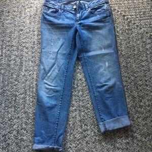 Ann Taylor loft lean boyfriend jeans